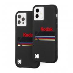 【Kodak × Case-Mate】iPhone 12 / iPhone 12 Pro 共用 Matte Black + Shiny Black Logo