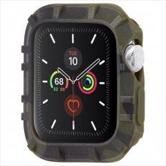 【Pelican × Case-Mate】Apple Watch 6,SE,5,4,3,2,1(42mm/44mm) 抗菌・耐衝撃バンパー Protector Bumper - Camo Green