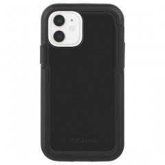 【Pelican × Case-Mate 抗菌仕様】iPhone 12 mini Pelican Voyager - Black w/ Micropel ホルスターセット