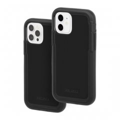 【Pelican × Case-Mate 抗菌仕様】iPhone 12 / iPhone 12 Pro 共用 Pelican Voyager - Black w/ Micropel ホルスターセット