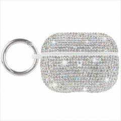 【水晶がキラキラと輝く・AirPods Pro・ワイヤレス充電もOK】 AirPods Pro Case Brilliance - Silver