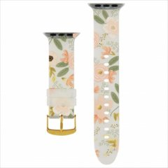 【RIFLE PAPER × Case-Mate】Rifle Paper Band for Apple Watch 1-3(42mm),4-7/SE(44mm) 共用 Wild Flowers