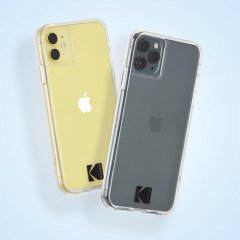 【Case-Mate×Kodak コラボ】 iPhone 11 / 11 Pro / 11 Pro Max Case Kodak - Clear Case with Logo
