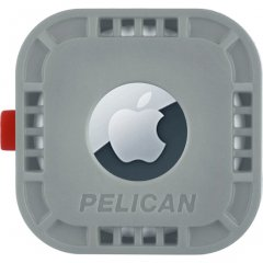【Pelican】AirTag Pelican Protector Mount - Grey 様々な場所に固定可能なエアータグ・ホルダー