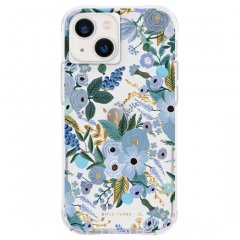 【RIFLE PAPER】iPhone 13 mini RIFLE PAPER - Garden Party Blue w/ Antimicrobial