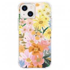 【RIFLE PAPER】iPhone 13 mini/12 mini 共用 RIFLE PAPER - Marguerite w/ Antimicrobial