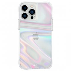 【シャボン玉をイメージした鮮やかさ+抗菌仕様】iPhone 13 Pro Max/12 Pro Max 共用 Soap Bubble w/ Antimicrobial