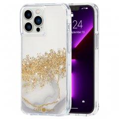 【24金を散りばめた輝くケース+抗菌仕様】iPhone 13 Pro Max Karat Marble w/ Antimicrobial