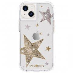 【ジェムストーンが星形に輝くケース+抗菌仕様】iPhone 13 Sheer Superstar - Clear w/ Antimicrobial
