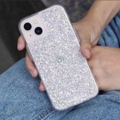 【夜空にきらめく星のような美しさ!+抗菌仕様】iPhone 13 Twinkle - Stardust w/ Antimicrobial