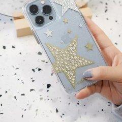 【ジェムストーンが星形に輝くケース+抗菌仕様】iPhone 13 Pro Sheer Superstar - Clear w/ Antimicrobial