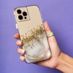 【24金を散りばめた輝くケース+抗菌仕様】iPhone 13 Pro Karat Marble w/ Antimicrobial