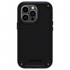 【Pelican】iPhone 13 Pro Pelican Shield - Black Kevlar w/ Antimicrobial ホルスターセット 抗菌仕様