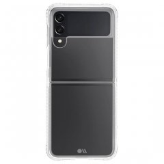 【耐衝撃クリアケース】Galaxy Z Flip3 5G au SCG12/docomo SC-54B Tough Clear Plus w/ Antimicrobial 抗菌仕様