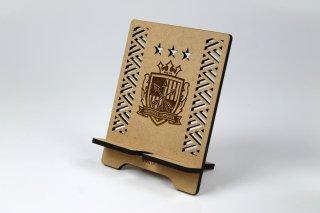 サンフレッチェ広島 木製タブレットスタンド・エンブレム
