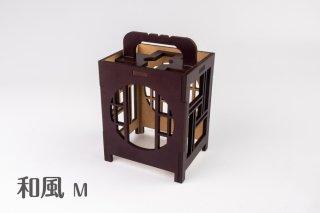 木製ディスプレイボックス(和風M)