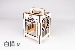 木製ディスプレイボックス(白樺M)