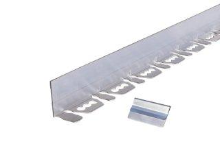 リサイクルエッジング(R) Lタイプ アルミエッジ50(グランドグリッド™スターター/エッジガイド/アスファルト見切)高さ:5� 長さ:2m×3本、アンカーピン9本、ジョイント部材3個入