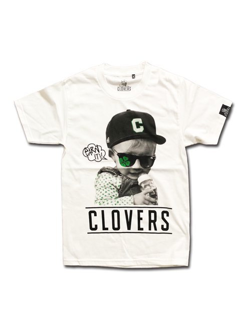 CLOVERS BABY T SHIRTS〈ADULT〉