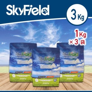 Sky Field Dog Food【3kg】
