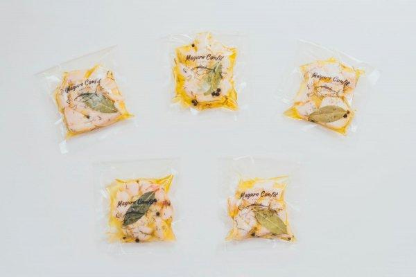 【冷蔵】まぐろコンフィ-まぐろ屋さんのごちそうツナ-ミニ×5パック おすそ分けセット