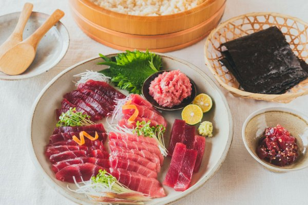 【期間限定10%OFF】天然インド・メバチまぐろの食べ比べ手巻き寿司セット