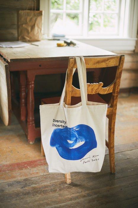 Semi Kim artwork tote bag
