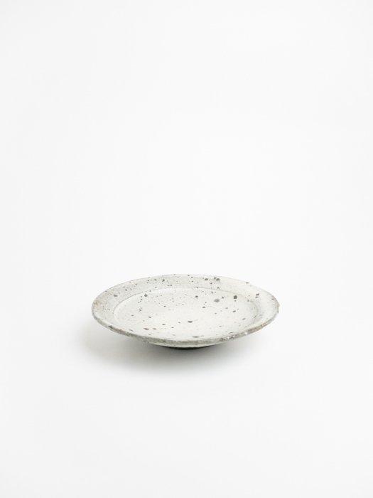 粉引6.5寸リム皿 / 山田隆太郎