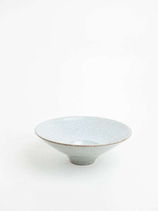 Bowl with small hole(Gray blue) / Gurli Elbaekgaard