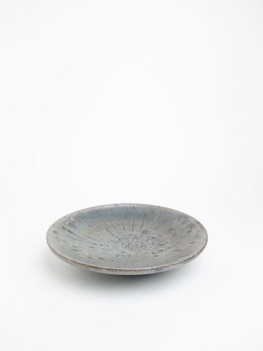 黒志野7寸皿 / 小野象平