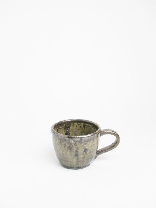 粉引きマグカップ/ 小野象平