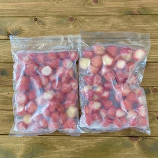 農薬不使用 冷凍いちご