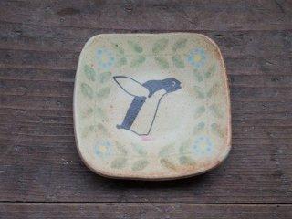 つぐみ製陶所 アデリーペンギン豆皿