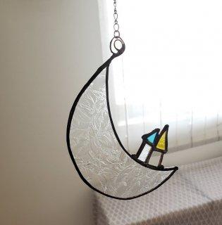 I glass works オーナメント「月のゴンドラ」