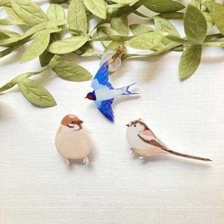 Coyura マスククリップ(野鳥)
