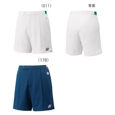 <img class='new_mark_img1' src='https://img.shop-pro.jp/img/new/icons15.gif' style='border:none;display:inline;margin:0px;padding:0px;width:auto;' />YONEX<BR>75THニットハーフパンツ<BR>15099A<BR>