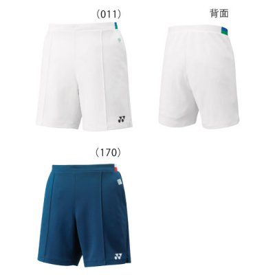 <img class='new_mark_img1' src='https://img.shop-pro.jp/img/new/icons15.gif' style='border:none;display:inline;margin:0px;padding:0px;width:auto;' />YONEX<BR>75THニットハーフパンツ<BR>15112A<BR>