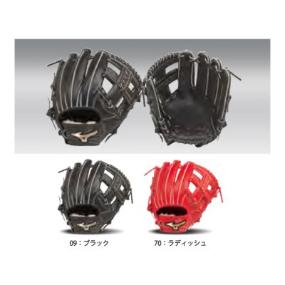 MIZUNO グローバルエリート GA H Selection 02+(プラス) 内野手用<BR>1AJGY22003<BR>