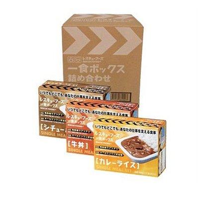 レスキューフーズ 1食ボックス 詰め合わせ 4箱入<BR> 400-626 <BR>