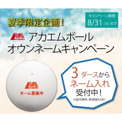【8/31まで】アカエムネーム入れキャンペーン※9箱以下の注文の方!