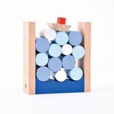 木製パズル&ゲーム ぷかぷかバランス <BR>  724-007 <BR>