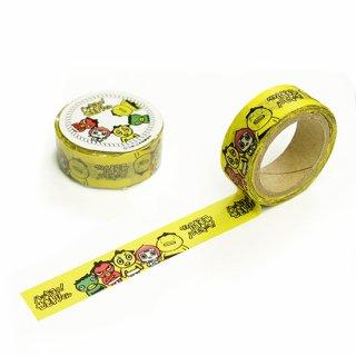マスキングテープ(イエロー)