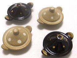 【可愛い秋冬の和陶器】 土鍋の箸置き