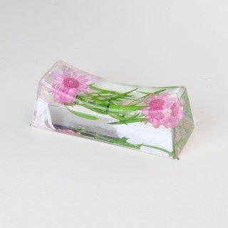 お花の箸置き アスパラピンク
