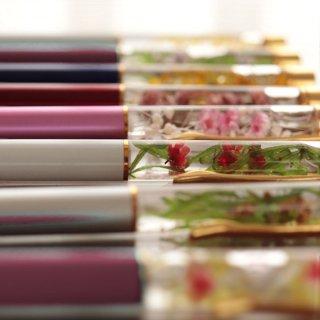 【花のペン】 お花のハーバリウムボールペン