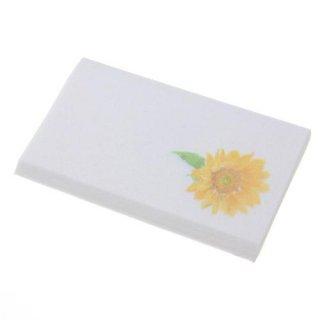 和紙工芸品 ひまわり懐紙
