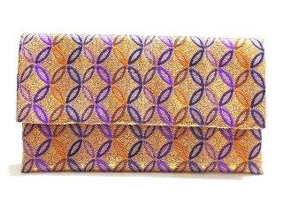 【金襴の和小物】【花楽堂オリジナル手作り札入れ】 札入れ財布 金襴 275
