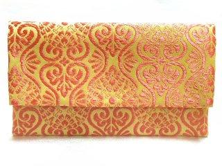 【おばあちゃんの手作り札入れ】 札入れ財布 刺繍 208