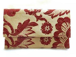 【おばあちゃんの手作り札入れ】 札入れ財布 刺繍 206