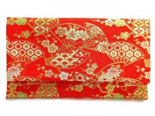 【金襴の和小物】【花楽堂オリジナル手作り札入れ】 札入れ財布 金襴 198
